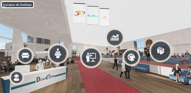 E-visiteurs : Comment accéder au salon DocExpo ?