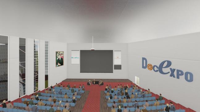 Salle de conférence virtuelle