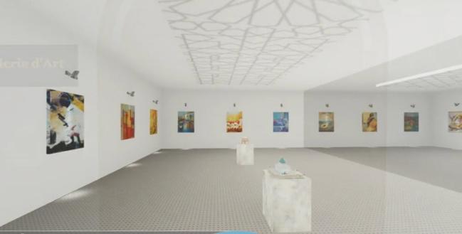 "L'artiste ""Fatiha Elgalai"" expose ce mois de novembre au salon DocExpo"
