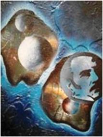 Les toiles de l'artiste-peintre marocain Abou  El Houda orneront ce mois de Mai 2017, la galerie du Salon Virtuel DocExpo.