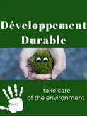 Développement Durable du 12 au 16 Novembre 2018