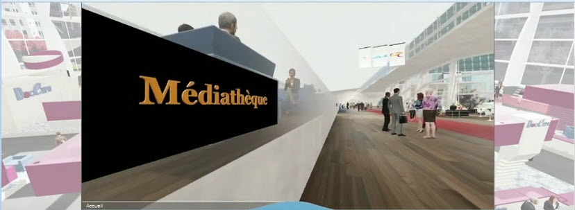 La Médiathèque virtuelle du salon DocExpo est ouverte !