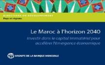 Publication : Le Maroc à l'horizon 2040 par la Banque mondiale