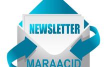 Inscription aux newsletters des portails thématiques Maraacid